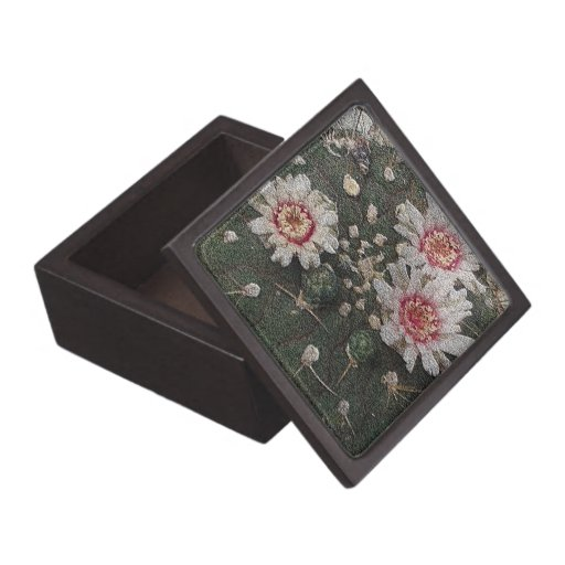 Cactus Flowers Premium Keepsake Boxes