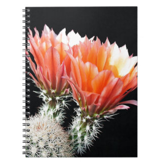 Cactus Flowers Spiral Note Book