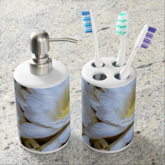 Cactus Flowers Toothbrush holder/soap dispenser