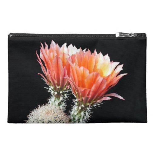 Cactus Flowers Travel Accessory Bag