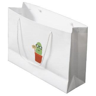 Cactus free hugs large gift bag