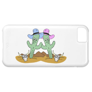 Cactus Friends Forever Case For iPhone 5C