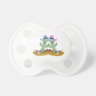 Cactus Friends Forever Pacifier