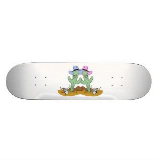 Cactus Friends Forever Skateboard