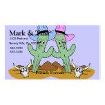 Cactus Friends Set Business Card Templates