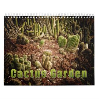 Cactus Garden Calendar