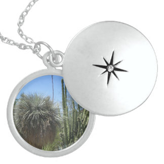 Cactus Garden Sterling Silver Necklace