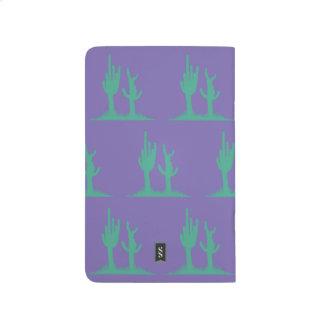 Cactus Green Purple Journal