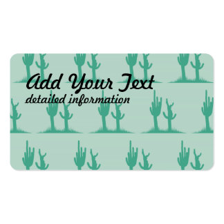 Cactus Greens Double-Sided Standard Business Cards (Pack Of 100)