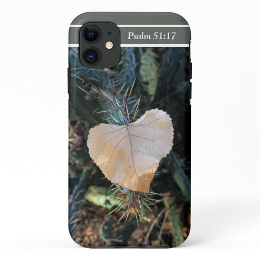 Cactus Heart Favorite Bible Verse Phone Case