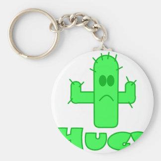 Cactus Hug Keychain