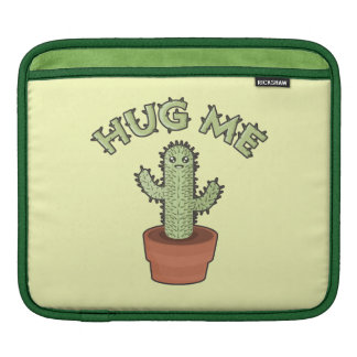 Cactus Hug Me iPad Sleeves