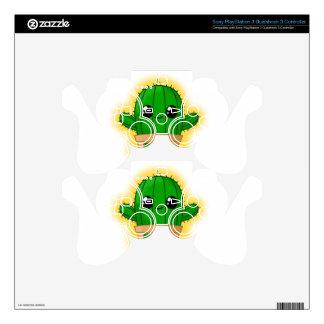 Cactus Huggable Calcomanía Para Mando PS3