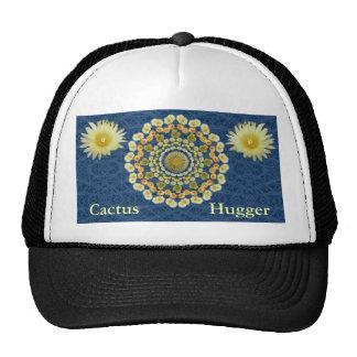 Cactus Hugger Hat with Barrel Cactus Mandala