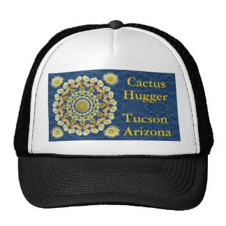 Cactus Hugger Hat with Barrel Cactus Mandala 1