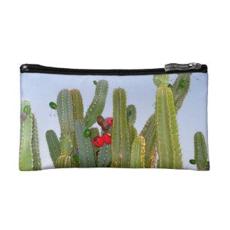 Cactus in Bloom Cosmetic Bag