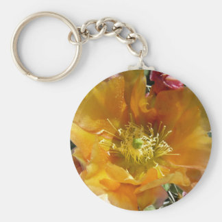 Cactus in Bloom Key Chains