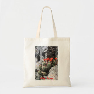 Cactus in the Rock Tote Bags