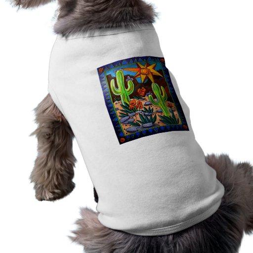 Cactus in the Southwest Pet T-shirt
