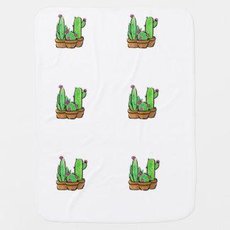Cactus joy swaddle blanket