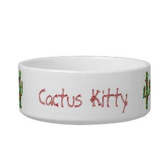 Cactus Kitty Bowl