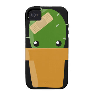 Cactus lindo iPhone 4 funda