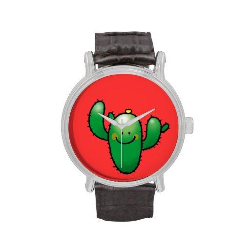 cactus lindo relojes