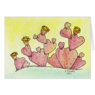 Cactus Love Greeting Card