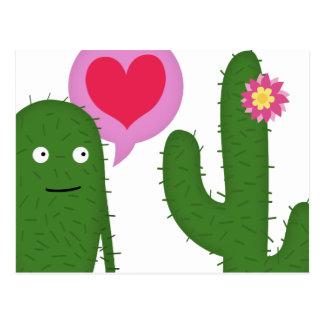 cactus love postcard