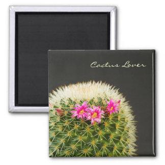 Cactus Lover Flower Magnet