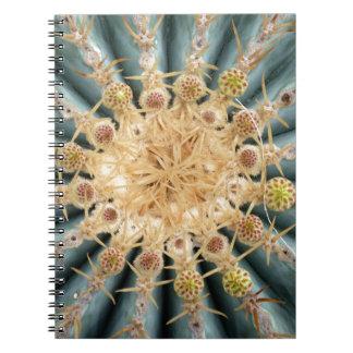 Cactus macros -- Estilo en colores pastel al sudoe Libreta Espiral