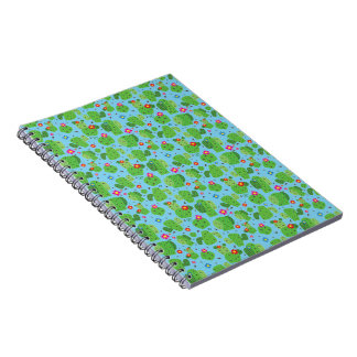 Cactus Me Outside (Blue) - Notebook