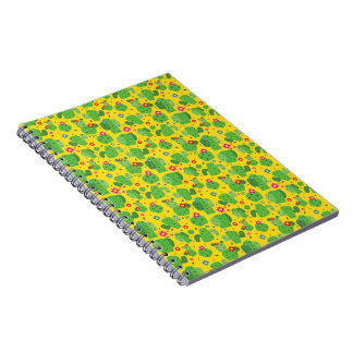 Cactus Me Outside (Yellow) - Notebook