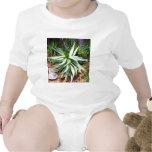 Cactus mediterráneo que crece a lo largo de costa traje de bebé