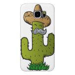 cactus mexicano con el bigote funda samsung galaxy s6