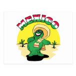 Cactus mexicano postal