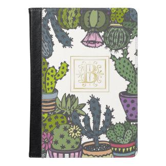 Cactus Monogram B iPad Air Case
