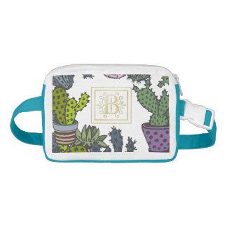 Cactus Monogram B Waist Bag
