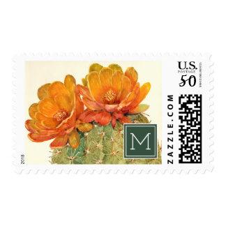 Cactus Orange Blossoms Postage