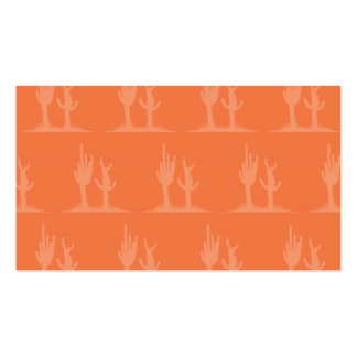 Cactus orange Double-Sided standard business cards (Pack of 100)