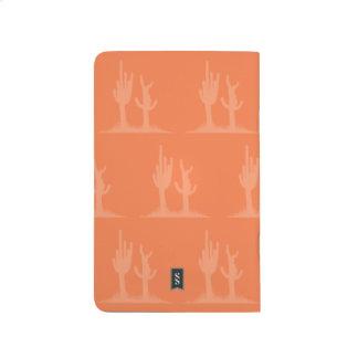 Cactus orange journals