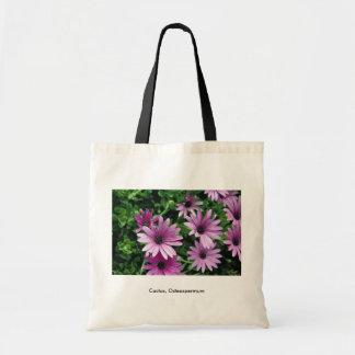 Cactus, Osteospermum Tote Bags