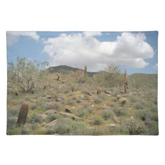 Cactus Pastoral Sonoran Desert Photo Placemat