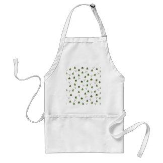 Cactus pattern adult apron