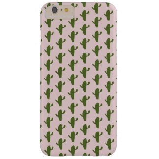 Cactus pattern barely there iPhone 6 plus case