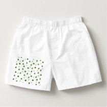 Cactus pattern boxers