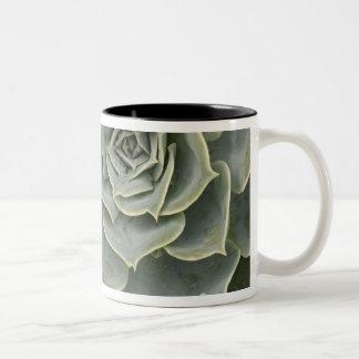 Cactus pattern Two-Tone coffee mug