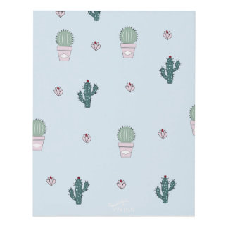Cactus picture panel wall art
