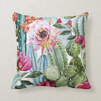 Cactus pillow (White)
