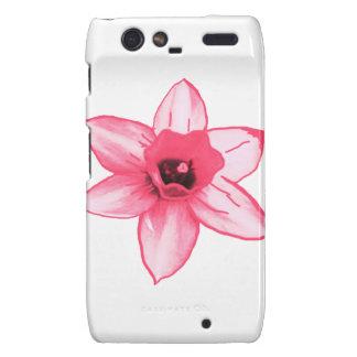 Cactus Pink Flower Template increase decrease size Motorola Droid RAZR Covers